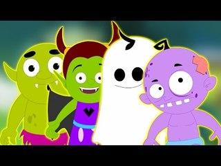 Noche de Halloween | niños rimas de miedo en español | canciones infantiles | Halloween Night