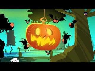 Jack O Linterna   Cartoon para los niños   Halloween canción   asustadiza canción   Jack O Lantern
