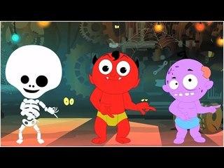 Hokey Pokey canciones infantiles  Los cabritosdanza  Canción en español