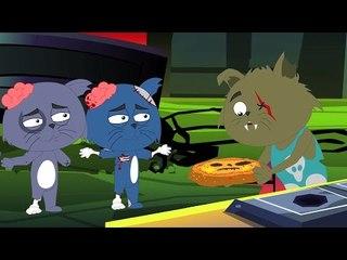 spaventose tre piccoli gattini   pauroso filastrocche   prescolari rime   Scary Three Little Kittens