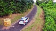Superbes vidéos en Drone du Rallye WRC d'allemagne