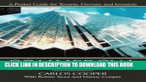 [Ebook] Commercial Real Estate Transactions: A Pocket Guide for Tenants, Owners and Investors