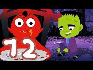 One Two meinen Schuh Schnalle | Furchtsamer Cartoon für Kinder | Beliebte Kinderreim