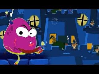 Humpty Dumpty saß an der Wand | Furchtsamer Cartoon für Kinder | Beliebte Kinderreim