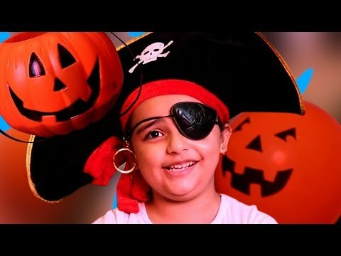 Halloween Pirate Costume   Magic Tricks with Toy Cars   The Issy Missy Show - TIMS