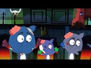 Страшно Три маленькие котята   Детского стишка   Песня для малышей   Дети Видео   3 Little Kittens