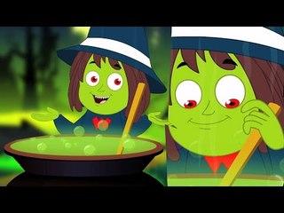 Ведьмы Суп | потешки | дети песни | страшная песня  |Nursery Rhyme | Scary Kids Song | Witches Soup