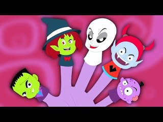 монстр палец семьи   потешки   дети песни   страшная песня   Nursery Rhyme   Monster Finger Family