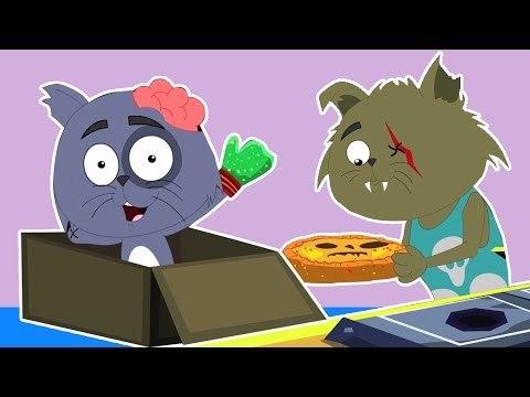 Three Little Mèo con | phim đáng sợ | vần ươm nổi tiếng