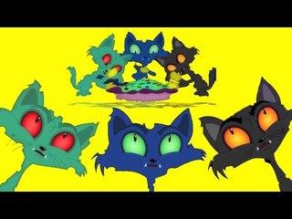 drei kleine Kätzchen | Kinderreime | Lied für Kinder | Zusammenstellung