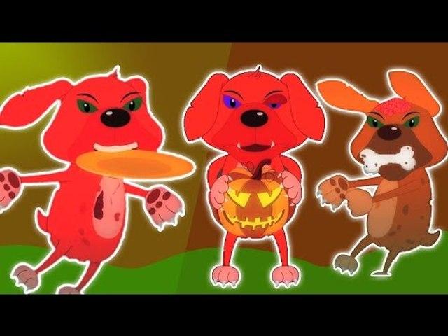 ห้าลูกสุนัขเล็ก ๆ น้อย ๆ | การ์ตูนสำหรับเด็ก | เนอสเซอรี่เพลง | เด็กสัมผัส | Five Little Puppies