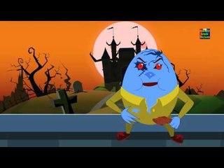 Humpty Dumpty นั่งลงบนผนัง   เพลงของเด็กในการร้องเพลง   เด็กบ๊อง
