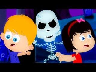 คืนฮาโลวีนของ   เนอสเซอรี่ คล้องจอง   เด็กเพลง   วิดีโอน่ากลัว   Halloween night   Nursery Rhyme