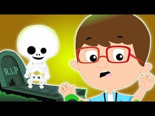 dia das bruxas noite   de rima assustador para as crianças   vídeo assustadores   Halloween Night