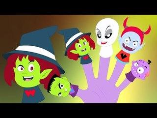 monstro dedo família   canção dedo família   Monster Finger Family   Scary Song   Scary Kids Rhyme