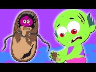 araña en mi zapato   de miedo canciones infantiles para los cabritos en español