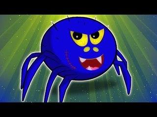 Incy Wincy Araña   Cartoon para los niños   compilación   Asustadiza Rima   Itsy Bitsy Spider