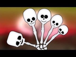 dedo familia esqueleto   niños compilación   Skeleton Finger Family   Finger Family Song   Kids Song