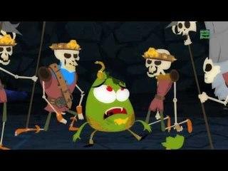 Humpty Dumpty Sat en una pared   Cartoon para los niños   video educativo   asustadiza rima