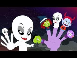Monstro Dedo Família | compilação assustador para as crianças | rima Popular | Monster Finger Family