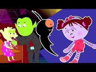 Miss Polly tinha uma zorra | desenhos animados assustadores para crianças | berçário do da rima