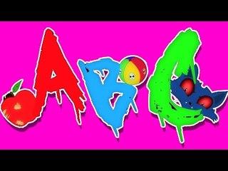 ABC Canção   Vídeo assustador para as crianças   vídeo educativo