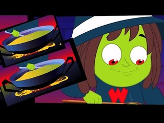 Witch Суп | потешки | дети песни | страшная песня | Nursery Rhyme | Scary Song | Witch Soup