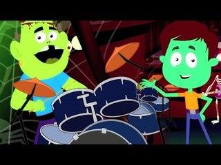 Monstro mashup | berçário Rimas | crianças canção coleção | dia das bruxas canção | Monster Mashup
