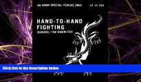 Online eBook ST 31-204 Hand-To-Hand Fighting (karate / tae-kwon-do) US Army Special Forces w