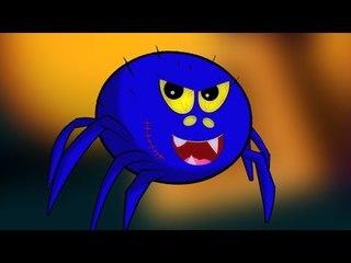 Incy Wincy แมงมุม | เด็กบ๊องการเก็บ | ที่น่ากลัวแมงมุมเพลง | เด็กวิดีโอ | Itsy Bitsy Spider Rhyme