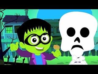 Truco o de   de miedo vivero rima   Halloween canción   Colección de vídeo   Trick or Treat song