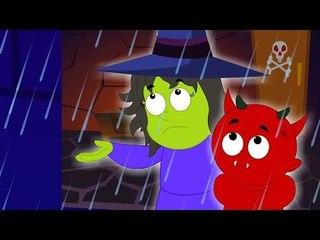 Pluie pluie go | Scary Tales De Haunted House | Comptine en français