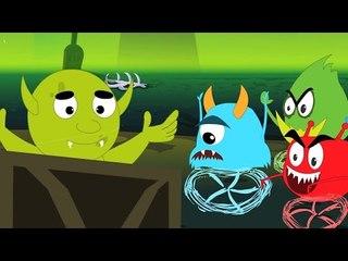 หนึ่งผีดิบเล็ก ๆ น้อย ๆ   ฮัลโลวีเพลง   เพลงเด็ก   Halloween Rhyme    One Little Zombie   Kids Song