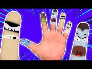 Finger Famille | Cartoon pour les enfants | vidéo éducatif | Comptine