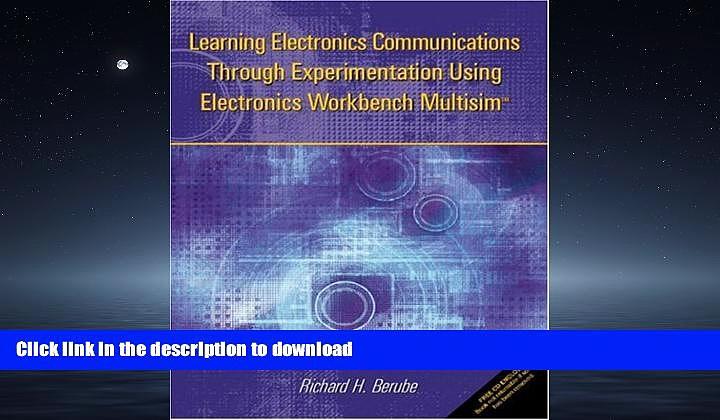 FAVORIT BOOK Learning Electronics Communications Through Experimentation Using Electronics