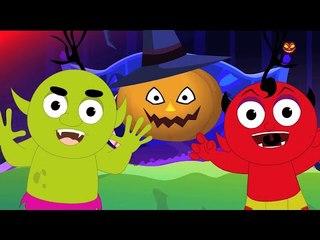 happy halloween   scary rhymes   kids songs   childrens rhymes