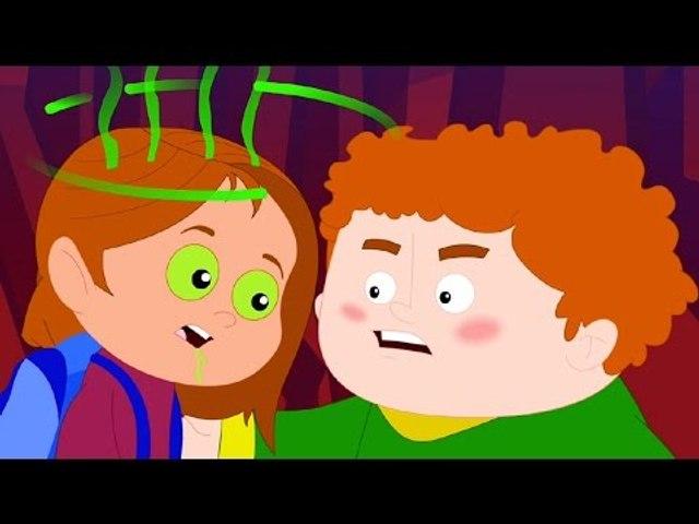 Monster Island   original song   scary rhymes   halloween song   nursery rhymes   kids videos