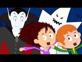 you cant run its halloween   original rhymes   kids songs   scary rhymes   baby videos