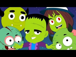 knock knock trick or treat   halloween song   scary rhymes   kids songs   hello halloween