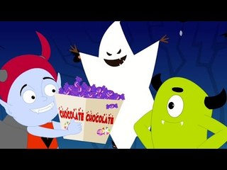 twelve little ghosts   original nursery rhymes   halloween song scary rhymes   kids rhymes