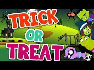 trick or treat   halloween song   scary rhymes   kids songs   nursery rhymes
