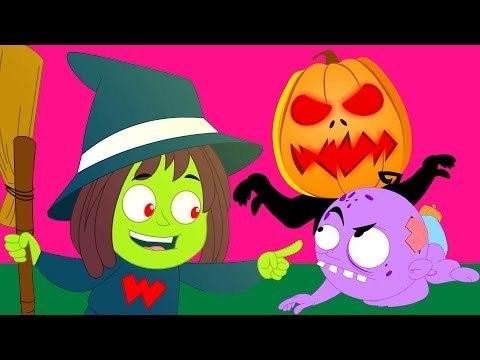 แจ็ค o โคมไฟ | น่ากลัวคล้องจองสำหรับเด็กที่ | ฮาโลวีนเพลง | Halloween Song | Jack O' Lantern