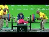 Powerlifting | XIAO Cuijan| Bronze|  Women's - 55kg | Rio 2016 Paralympic Games