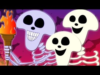 skeletons march   halloween songs   original rhymes   nursery rhymes   scary rhymes