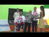 Compound Open Mixed Team Medal Ceremony - Rio 2016 Paralympics