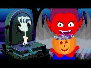 Deleite ou tratar a   Cartoon para miúdos   Assustador Crianças Canção   Treat Or Treat