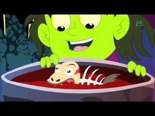 bruja sopa canción de miedo   halloween de los niños   Witch Soup Halloween Song   Kids Scary Rhymes