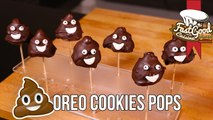 "Recette Emoji ""Caca"" ‑ Oreo Cookies Pops"