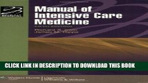 [FREE] EBOOK Manual of Intensive Care Medicine (Lippincott Manual Series (Formerly known as the