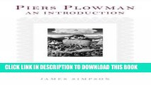[Free Read] Piers Plowman: An Introduction: Second, revised edition Full Online